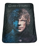 "Game of Thrones 46"" X 60"" Tryion Fleece Throw Blanket"
