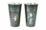 Tyrion & Jon Snow Pint Glass Set: Game of Thrones