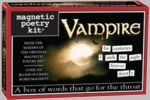 Vampire Magnetic Poetry