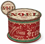 Vintage Noel Soap in a Spool Box