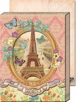 Vintage Paris Diecut Pocket Note Pad