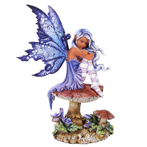 Violet Fairy Figurine By Amy Brown Gifts Collectibles