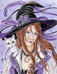 'Violet Witch'<BR>by Meredith Dillman