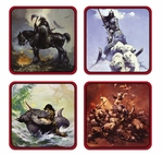Frank Frazetta Coaster Set
