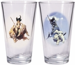 Warriors & Women Pint Glass Set 2