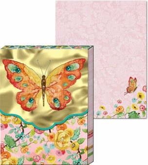 Watercolor Butterfly Pocket Notepad