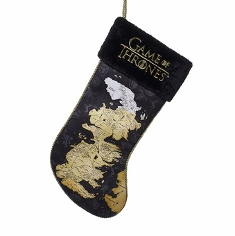 Westeros Map Christmas Stocking: Game of Thrones