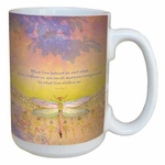 What Lies Behind Dragonfly Coffee Mug