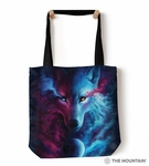 Where Light & Dark Meet Tote Bag