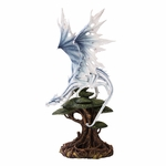 White Dragon on a Tree