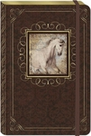 White Horse Large Bungee Journal