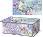 White Lilac Music Box with Green Tea Soap