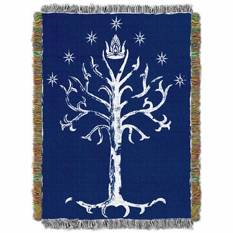 The White Tree of Gondor Tapestry Throw