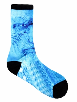 White Walker Socks: Game of Thrones