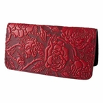 Wild Rose Leather Smart Phone Wallet