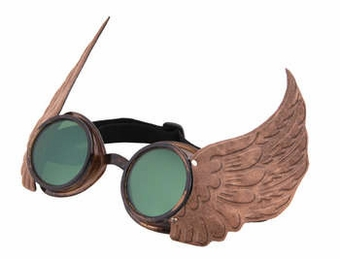 Winged Goggles Gold