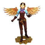 Steampunk Lady with Wings