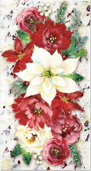 Winter Roses Guest Towels