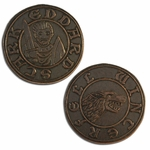 Winterfell Copper Half-Groat of Eddard Stark: Game of Thrones