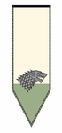 Stark Winterfell Banner - Game of Thrones