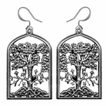 Wisdom Tree Earrings