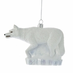 Game of Thrones Ghost Wolf Ornament