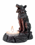 Wolf Tea Light Holder