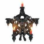 Wolfman Pentagram Candle Holder
