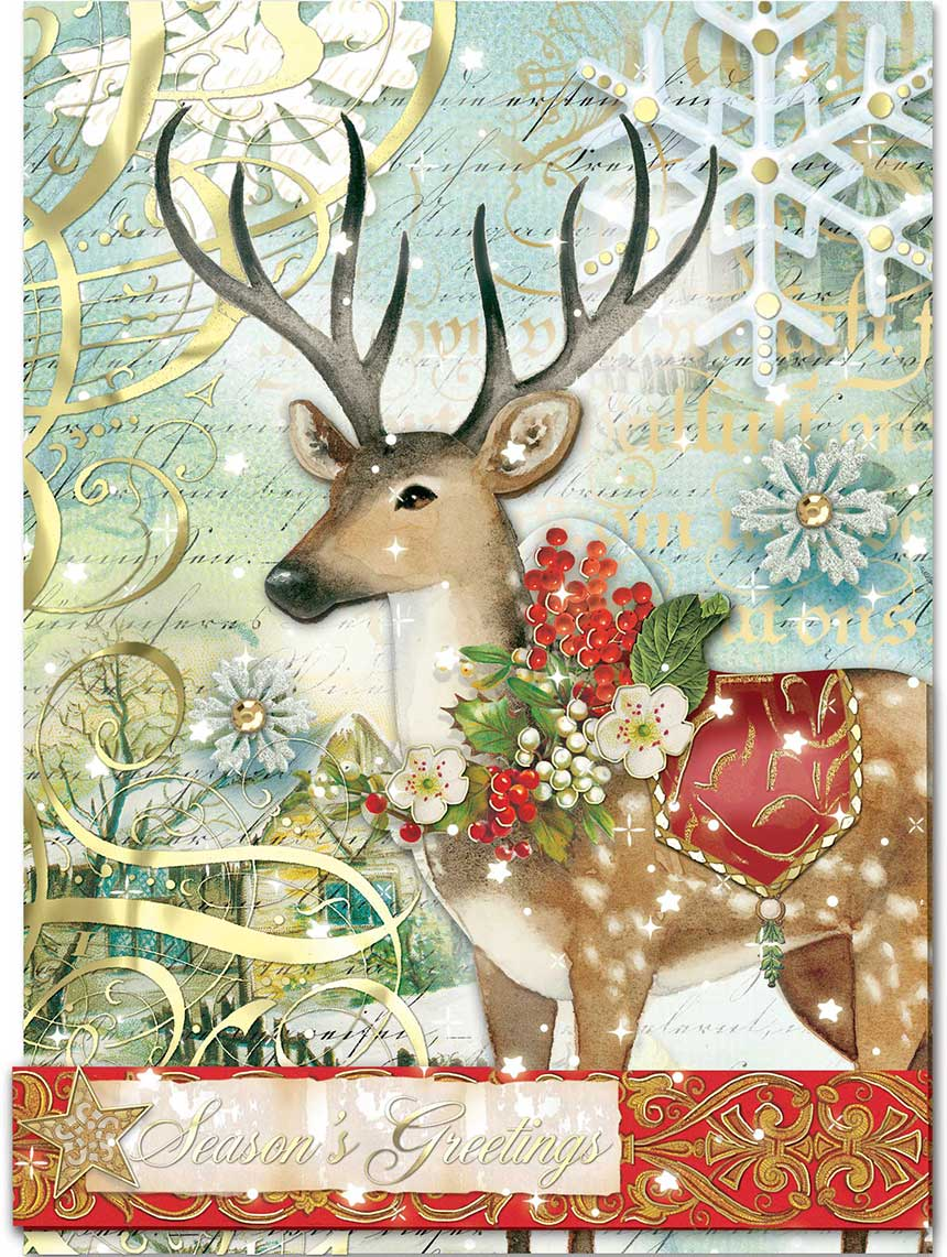 Wonderland Whims Boxed Christmas Cards: Holiday: Punch Studio ...