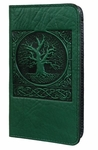 World Tree Leather Checkbook Cover