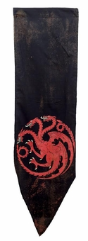 Worn Targaryen Tournament Banner - Game of Thrones