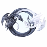 Yin & Yang Dragon Mirror