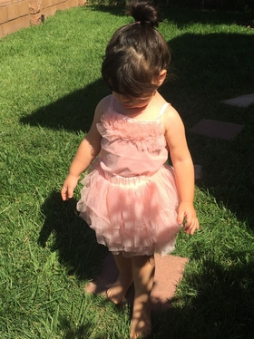 Adorable Two Piece Tutu With Soft Mesh