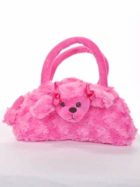 Cute Puppy Fur Purse