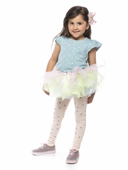 Cute Ruffle Tutu with Rainbow Colors