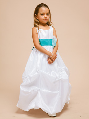 Flower girl dresses pick up style