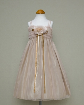 Embroidered Baby-doll Dress