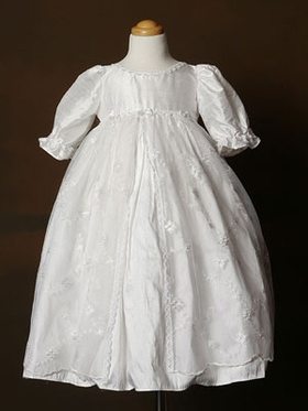 Exquisite laced Christening Gown