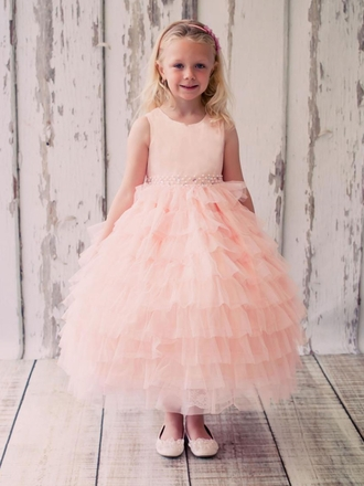 Dress Your Flower Girls In The Most Beautiful Hues Of Pink.