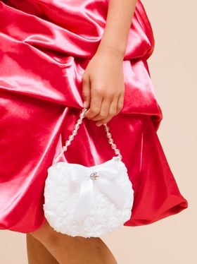 Fancy Rose Purse for Flower Girls