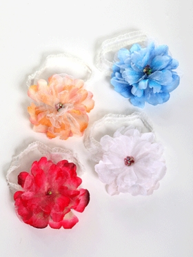 Floral Ribbon Hairband for Baby
