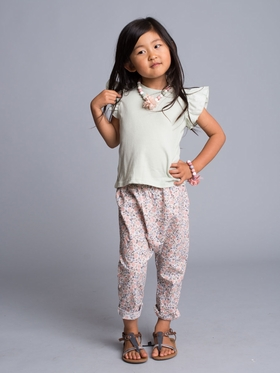 Floral Slouchy Pants