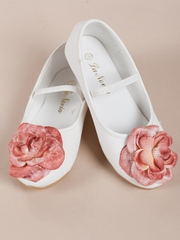 Flower Accented Girl Shoes