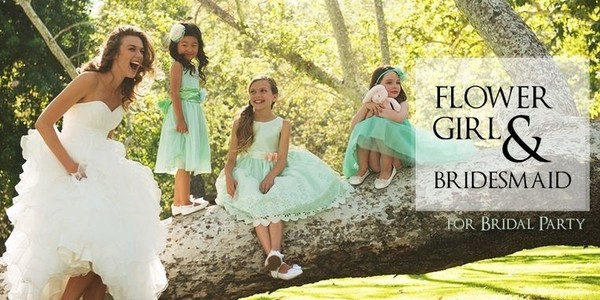 Flower Girl & Bridesmaid