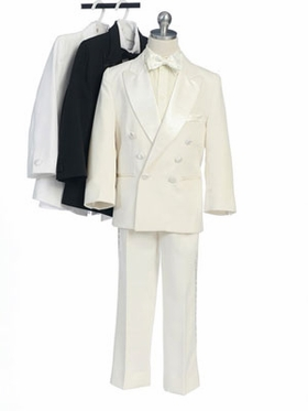 Four Piece Double Breasted Ring Boy Tuxedo
