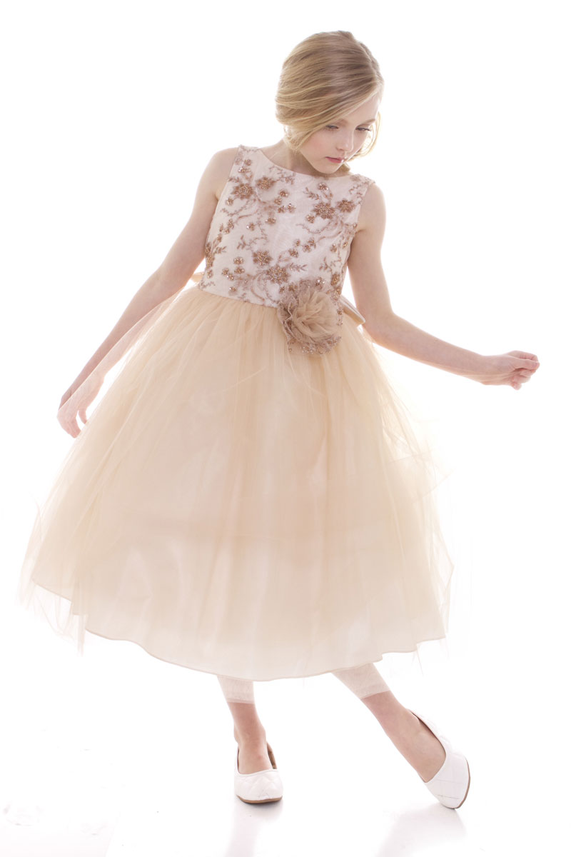 Superior range of gowns and casual dresses for your little lady at luxurious beaded embroidery v back dress ombrellifo Gallery