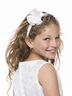 Satin Headband with Accented Bow