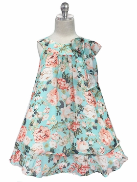 Soft Chiffon Flower Girl Dress