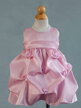 Taffeta Pick Up Infant Dress