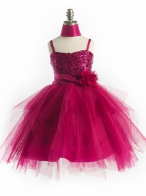 The Fancifully Trendy Asymmetrical Tulle Graduation Dress